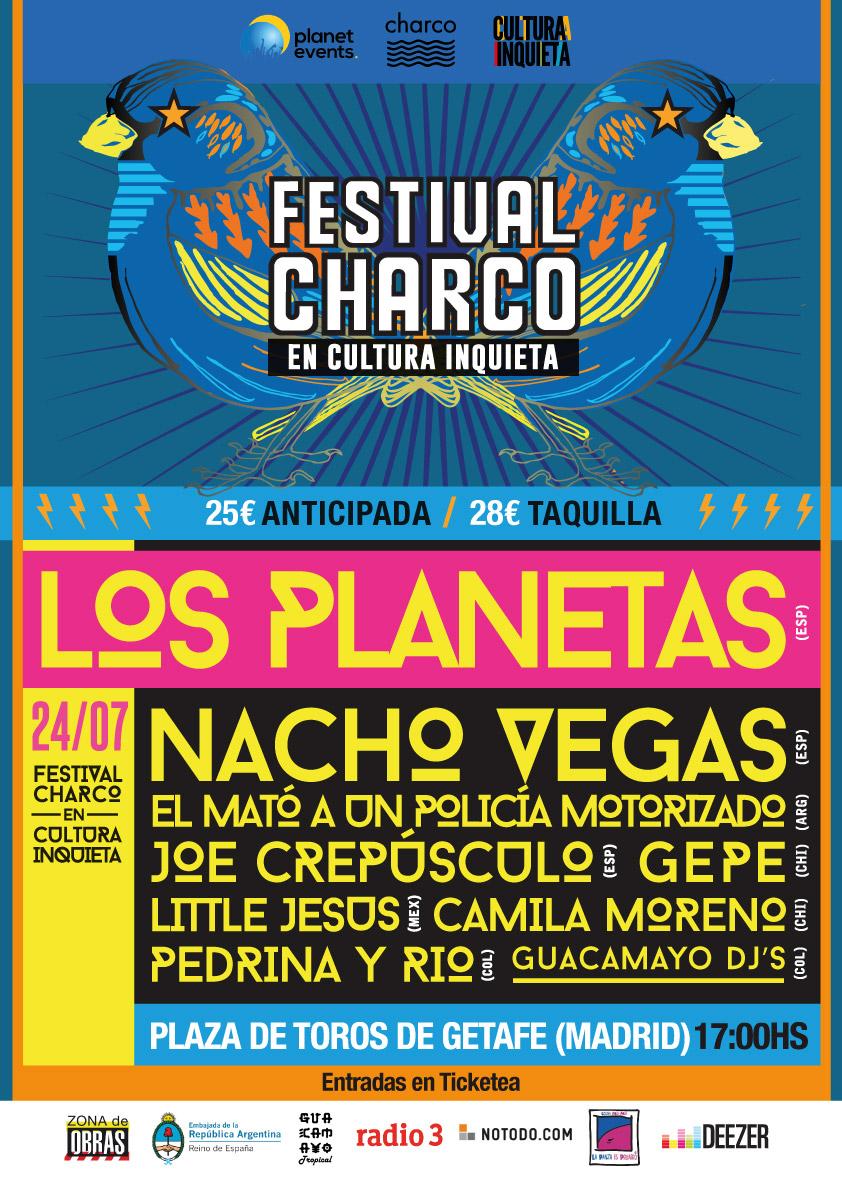 agenda, charco, conciertos, cultura, festival, getafe, inquieta, Madrid, ocio, p