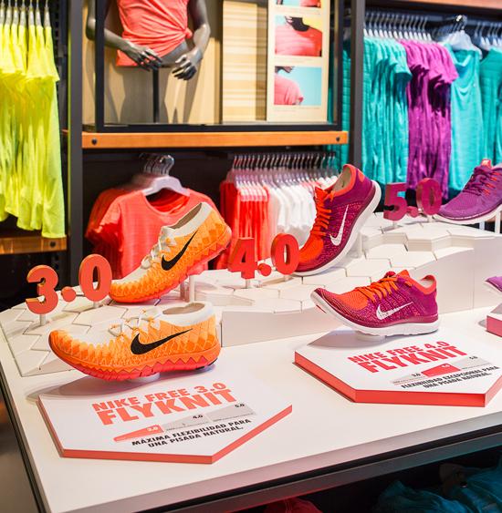e005e81a7b8 Nike Store en la Milla de Oro