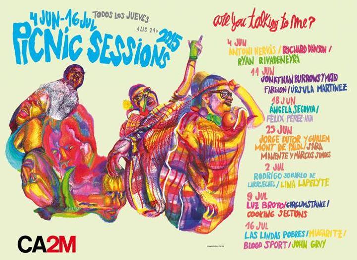 picnic, sessions, verano, terraza, música, ocio, agenda, madrid, duende, CA2M