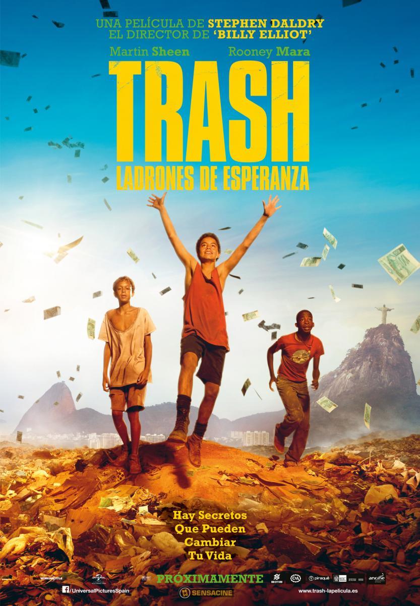 trash, película, ladrones, esperanza, daldry, cartelera, agenda, cultura, madrid, ocio