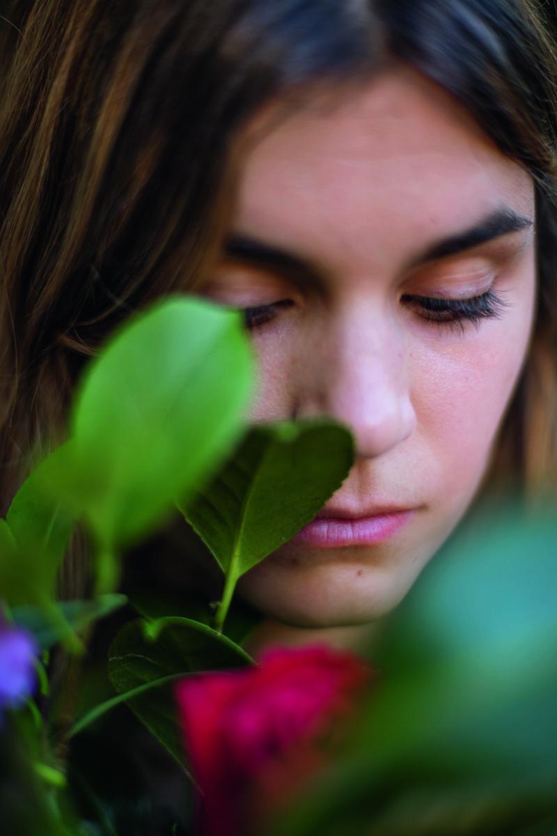 Elvira Sastre. Foto por Javier Aranburu.