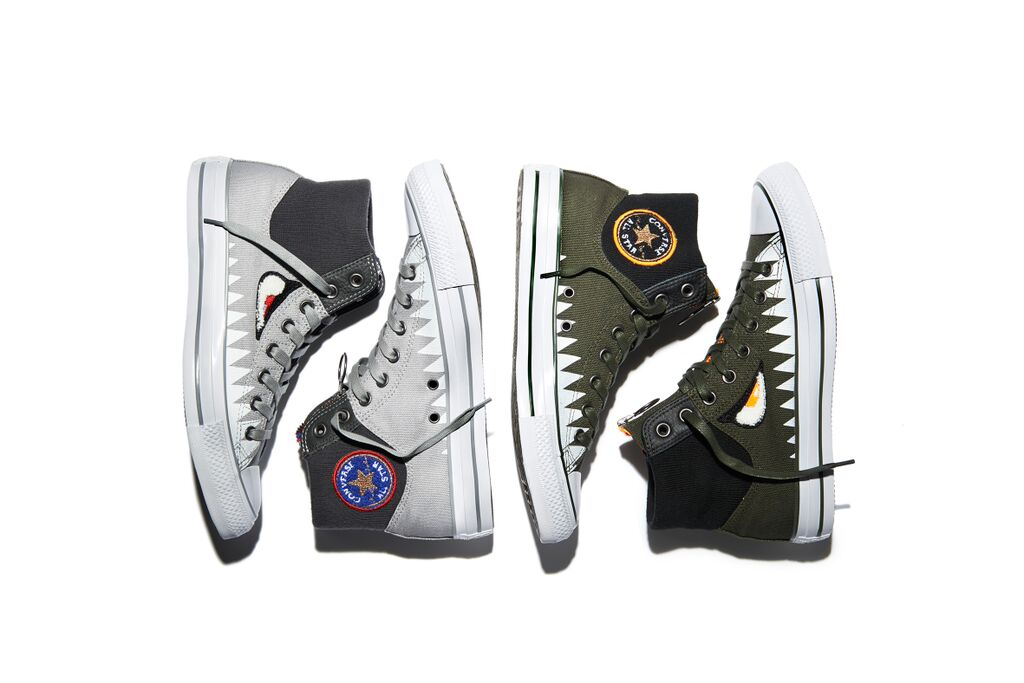 Converse, Chuck, Taylor, All, Star, MA-1 ZIP, Shark, Pack, duende, moda, fashion