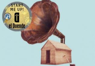 cabaña, discos, vinilo, start, me, up, granada, proyecto, música