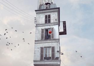 flying, houses, cultura, fotógrafo, arte, fotografía, laurent, chehere