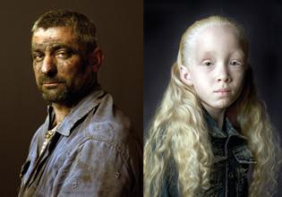 Pierre Gonnord, Luis (2009) e Iris (2011)