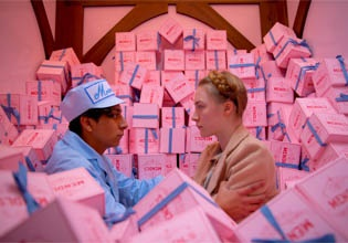 Fotograma de la película El Gran Hotel Budapest