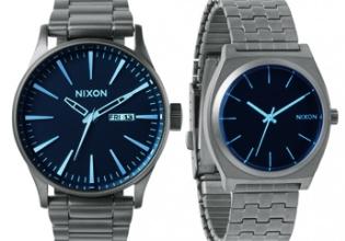 """Nixon relojes, colección """"The Blues"""""""