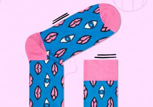 happy, socks, andré, saraiva, artista, arte, objetos, comprar, diseño