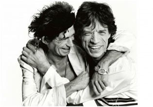 Mick Jagger& Keith Richards. Mario Testino