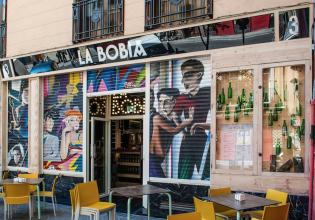 asturiana, bobia, comer, copas, gallery, Madrid, restaurante, sidrería, swinton