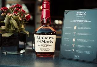 bourbon, makers, mark, dry, martini, madrid