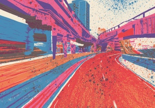 google, street, view, arte, artista, zansky, contemporáneo, colores