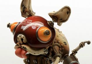 michihiro, matsuoka, esculturas, steampunk, artista, cultura, arte