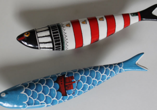 arte, bordalho, creación, cultura, objetos, pinheiro, portugal, sardinas