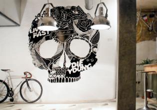 arte, Bicicleta, café, ciclismo, gastronomía, locales, Madrid, malasaña, urbano