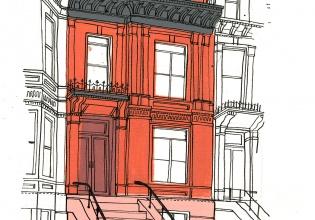 nueva, york, gulliver, Hancock, planos, cultura, buildings, arquitectura