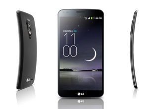 LG G Flex, un smartphone con curvas