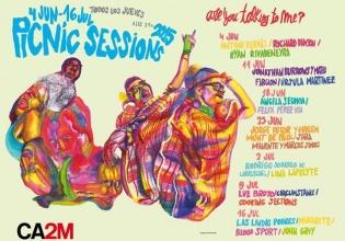 agenda, CA2M, duende, Madrid, musica, ocio, picnic, sessions, terraza, verano