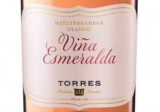 viña, esmeralda, rosé, bodegas, torres, vino, fresco, delicado, beber