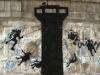 banksy, arte, artista, gaza, graffitti, compromiso, franja, gatos, guerra