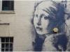 banksy, perla, vermeer, bristol
