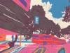 google, street, view, arte, artista, zansky, contemporáneo, colores