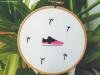 beni, rivas, bordado, exposición, galería, zapatillas, agenda, cultura