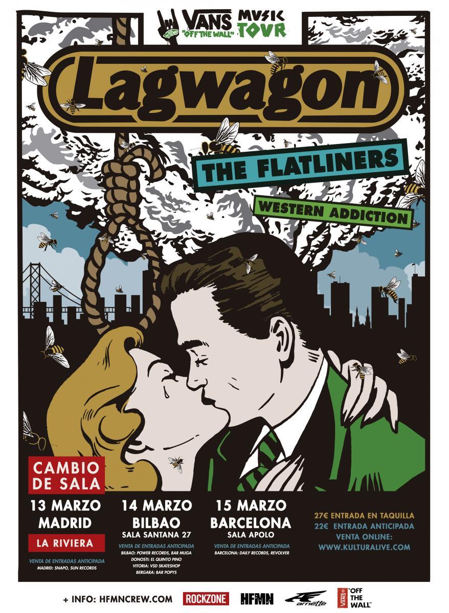lagwagon, música, vans, tour, 2015, flautines, cultura, ocio, agenda, madrid